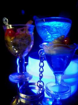 藍色雞尾酒