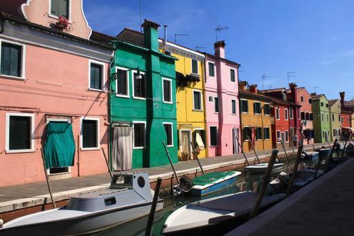 베네치아 부 라노 섬 (이탈리아)