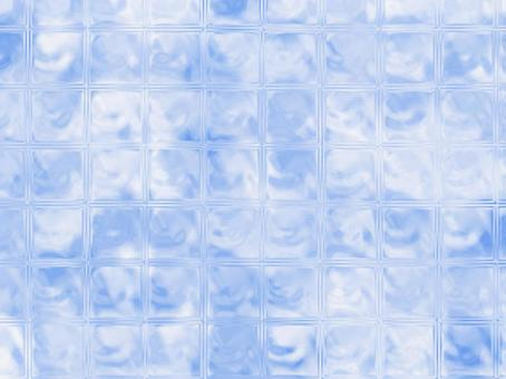 Glass texture light blue