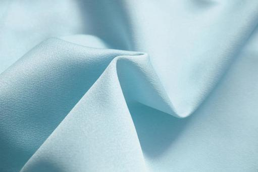 面布淺藍色水藍色薄絲綢