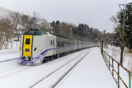 Limited express in winter