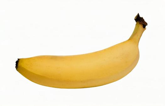 Banana PSD (background transparent, with path)