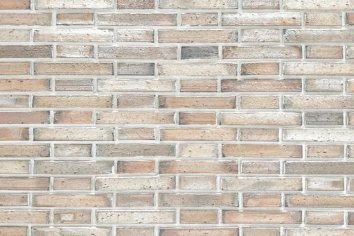 Natural brick wall background material