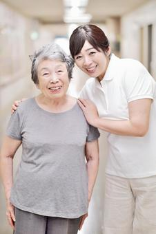 Caregiver and grandma 2