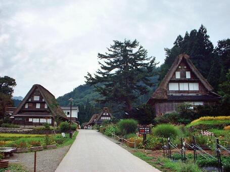 세계 유산 아이 노 쿠라 갓 쇼즈 쿠리 마을