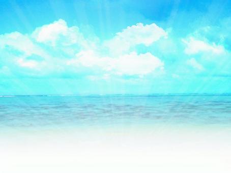 Sky and sea 01