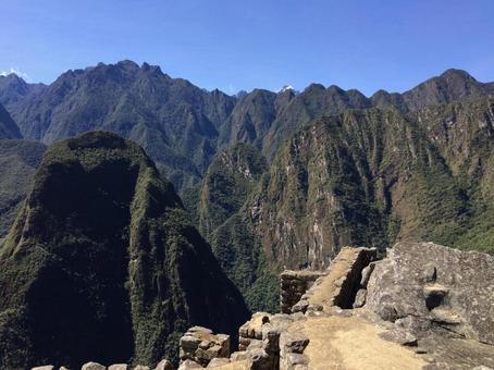 マチュピチュ遺跡、ペルー。