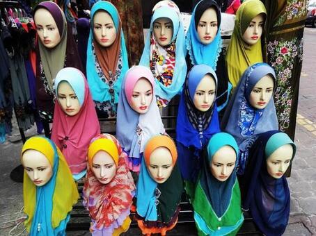 穆斯林頭巾商店