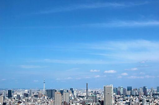 도시의 전망 도쿄 3