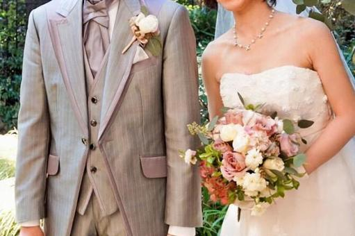 Wedding bride and groom 1