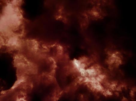 브라운 어두운 하늘