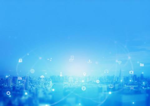 數字與城市影像網絡燈