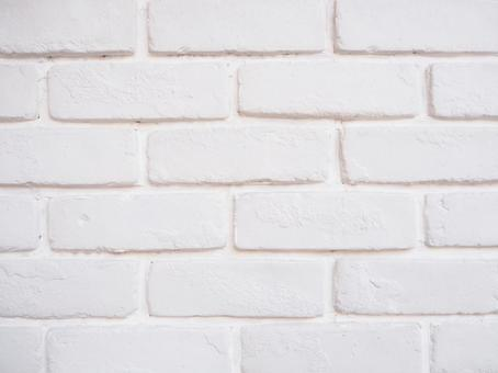 White brick wall 3 background texture