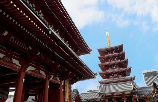 도쿄 워커 열차 오층탑