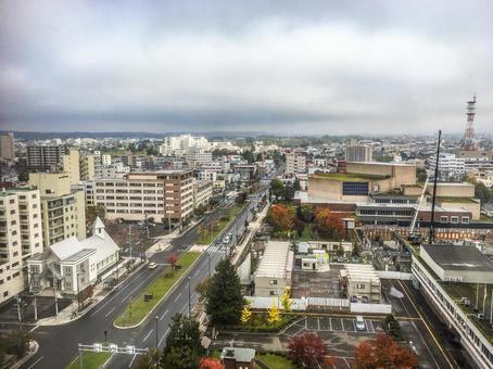 [Hokkaido] Scenery of Asahikawa City