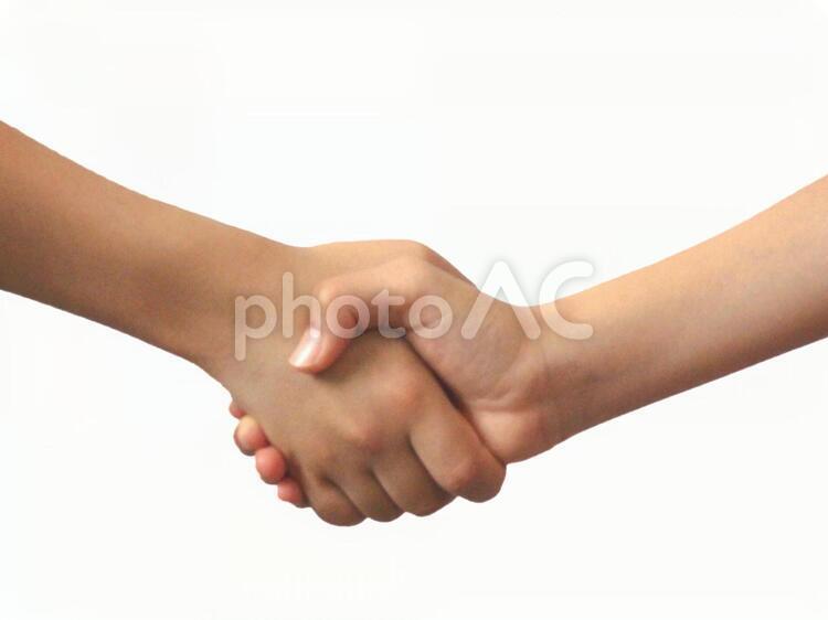 握手01の写真