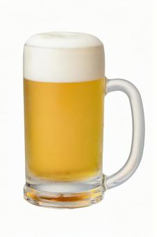 Beer draft beer with clipping path PSD