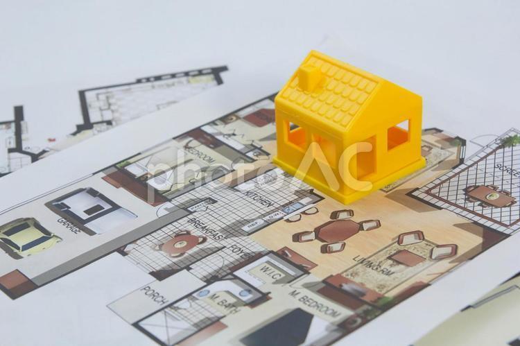家の模型影63の写真