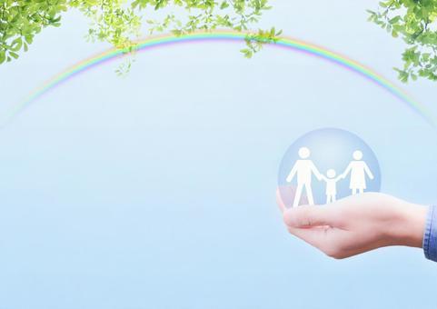 Family future bright image