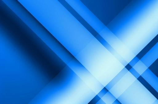 Blue linear geometric background material