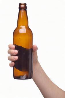 Hand pose bottle 2