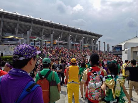 Stadium just before the live field # 2