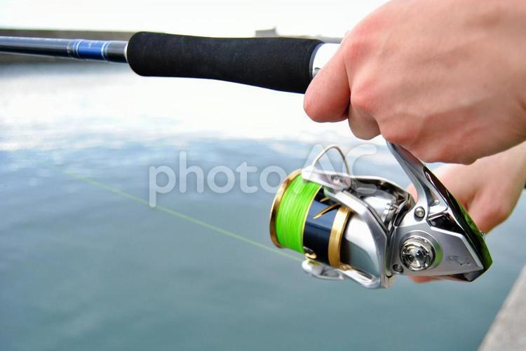 釣りの待ち時間の写真
