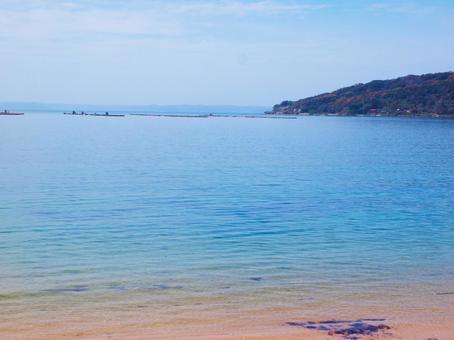 후쿠오카 현 이토 시마의 바다
