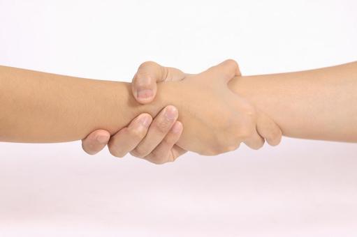 手部件(握手)4