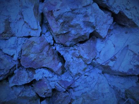 岩石紋理靛藍材料