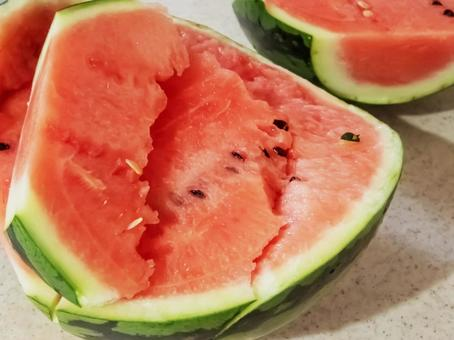 Cold and sweet summer tradition Watermelon