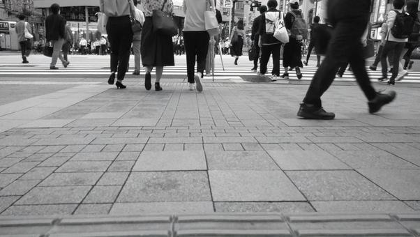 Urban crowd