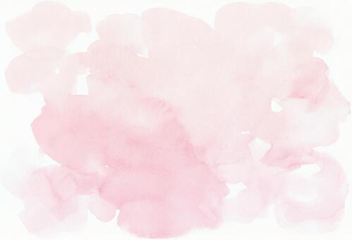 Watercolor texture [PSD background transparent] Pink