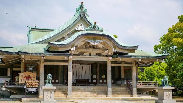 Toyokuni Shrine main shrine