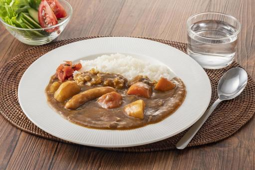 Curry curry rice