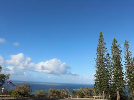 新喀裡多尼亞旅行努美阿天文台Uantro Hill