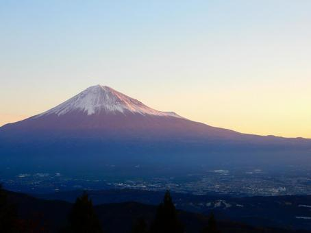 Morning View Project · Shizuoka (Mt. Fuji from Shiratori-yama)