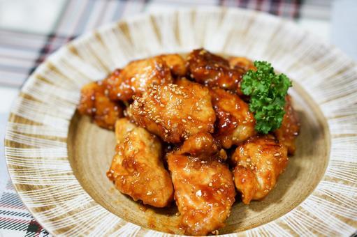 양념 치킨 1