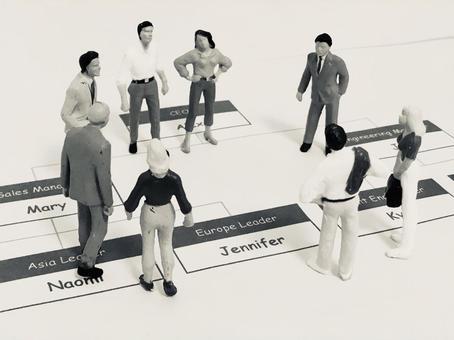 Discuss personnel system (monochrome)