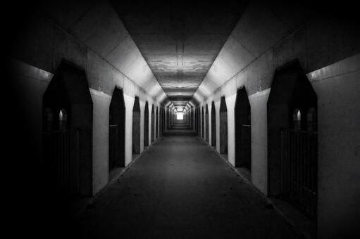 Dark and long tunnel 0510