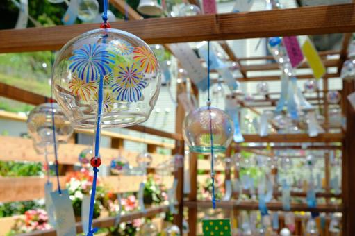 Summer tradition wind chimes