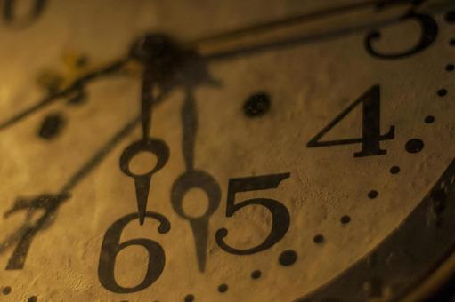 Antique-style old clock