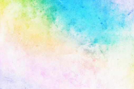 Watercolor pastel frame background Blur blue pink pale