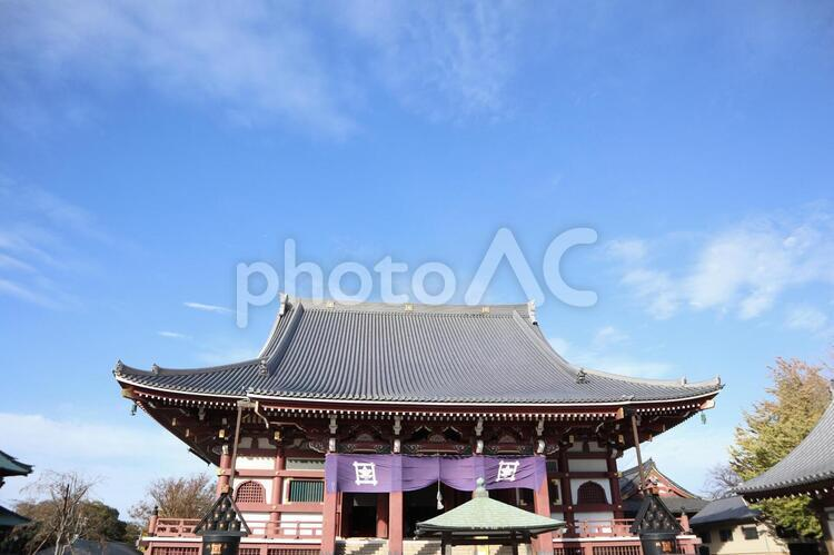 池上本門寺 大堂の写真