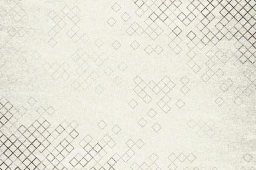 具有方格圖案的日本紙圖像紋理