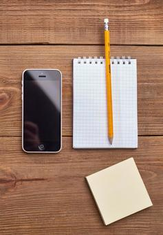 Smartphone and writing instrument