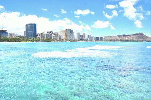 하와이 와이키키 비치