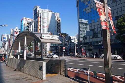 도쿄 메트로 우에노 히로 코지 역