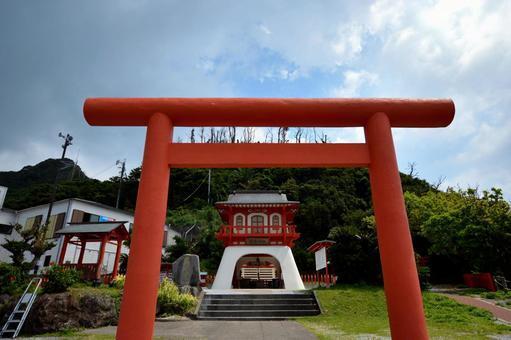鳥居的龍宮神社