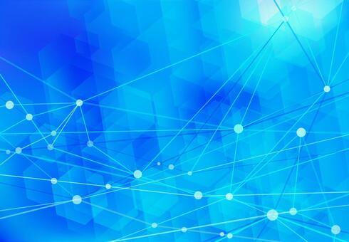 파란색 네트워크 기술 추상 배경 소재